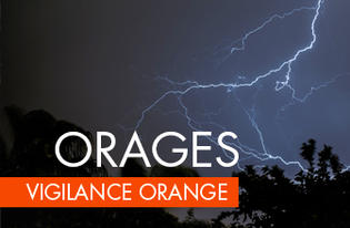 ALERTE METEO - VIGILANCE ORANGE